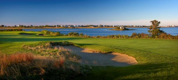 Weekapaug Golf Club #4 - Photo courtesy of Gary Kellner at Dimpled Rock