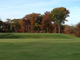 #11 - Finding the fairway is no sure thing, and the reward for a solid tee ball is a demanding approach.