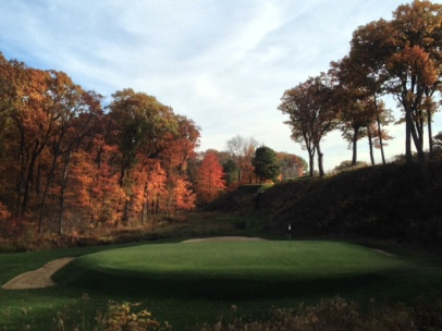 #12 - Tucked into the back corner of the property, it takes a special talent to envision a hole like this.