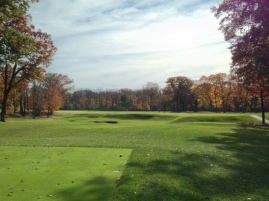 #2 - The par-4 second provides the first glimpse of the ravine topography that Raynor used so brilliantly in his routing.