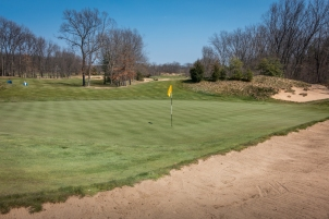 #8 - The bunker behind is much trickier than it looks