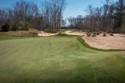 #8 - Vistas between holes have now been opened (photo by Scott Vincent)