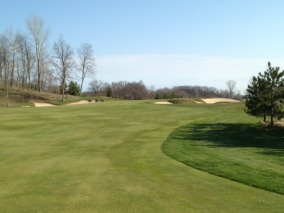 #7 - Approach to the elevated green