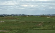 #16 - Par 4 - Tee shot back out into the coastal zone