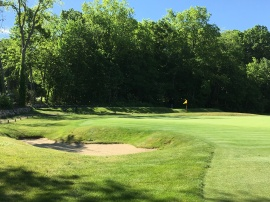 #5 - Par 4 - Short left of the green