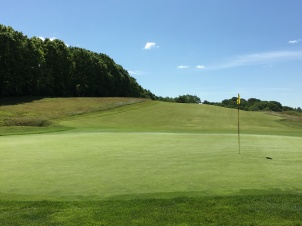#7 - Par 4 - Green back to the rolling fairway